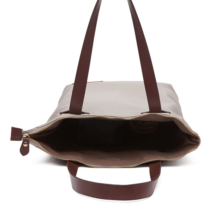 Harlequin Belle Wanderlust Backpack Handbag Nappy Bag Grey Tan Leather