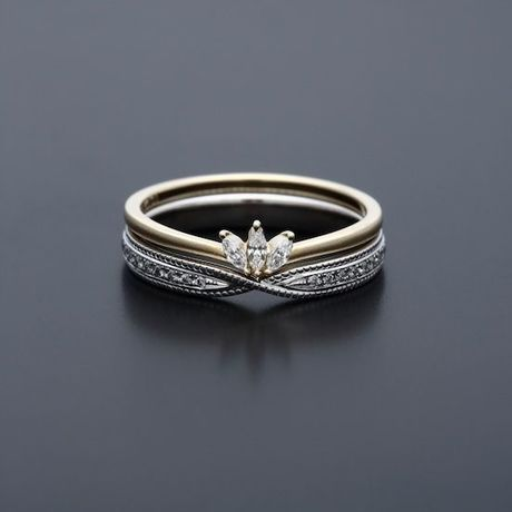 Lily / connect (pave). Ring by Maison Rubus.