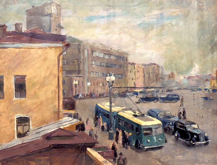 Москва. Садовая. 1935. Урманче Б.И.