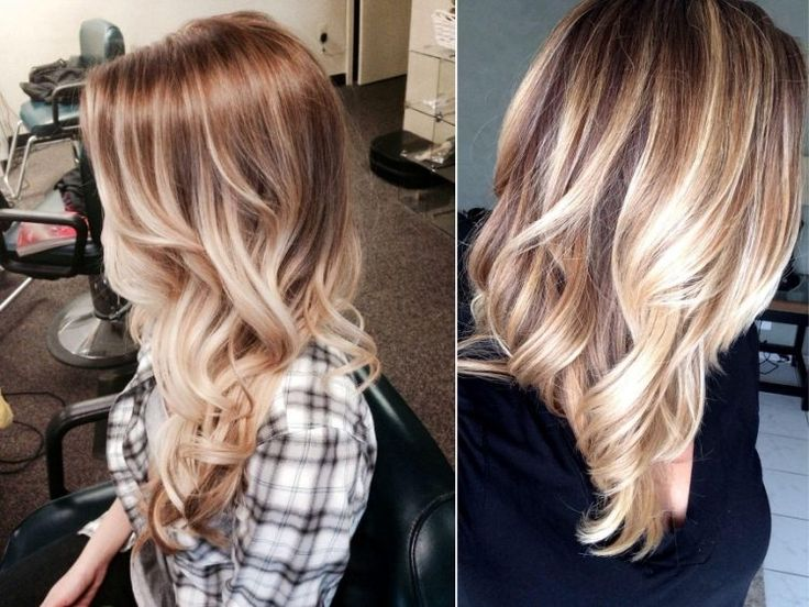 Balayage Highlights Balayage Highlights Helle Haare
