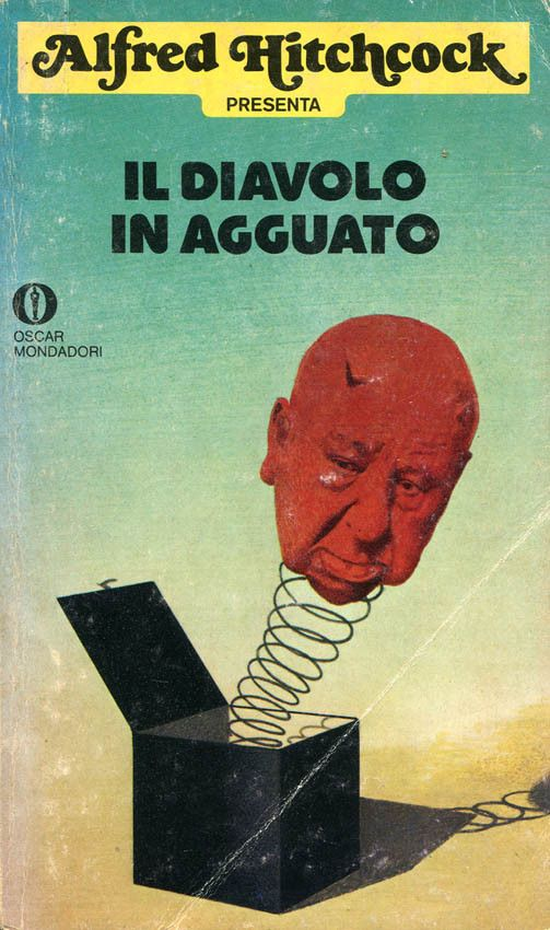 "Illustrazione di Karel Thole per ""Il diavolo in agguato"" (Boys and Ghouls Together, 1974), una delle antologie targate ""Alfred Hitchcock presenta"" #Mondadori #AlfredHitchcock #KarelThole"