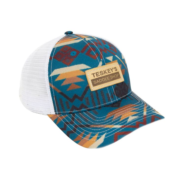 New Turquoise Teskey's Aztec Cap!  Get yours today -> http://ss1.us/a/Bu4Vj0lK #Teskeys #Instyle #Southwest