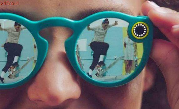 Case dos óculos do Snapchat derrete durante carregamento