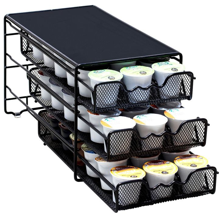 DecoBros 3 Tier Drawer Storage Holder 54 Keurig K-cup Coffee Pod * Find out more about the great product at the image link.