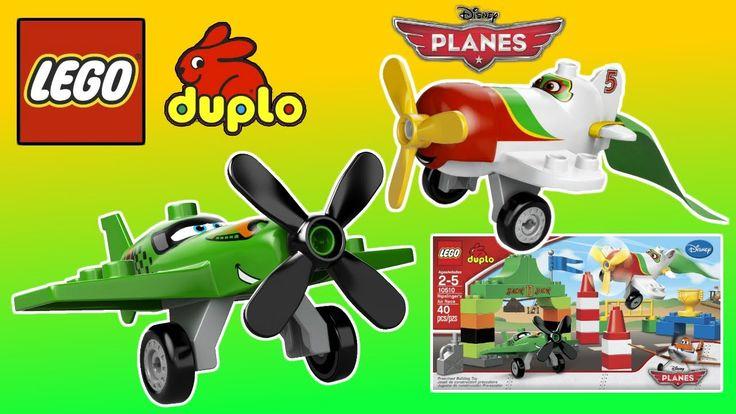 LEGO Disney ✈ Planes Ripslinger ✈ Air Race Lego Duplo Building Toys for boys Unboxing video https://youtu.be/oAK9gKyQu6w