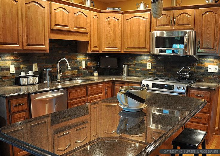 50 Black Countertop Backsplash Ideas Tile Designs Tips Amp Advice Eclectic Kitchen Kitchen