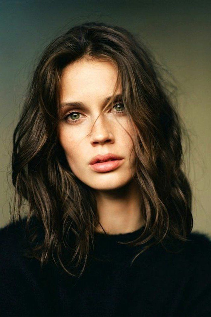 Best 25 cheveux mi long femme ideas on pinterest cheveux mi longs boucl s tendances cheveux - Coup de cheveux mi long ...