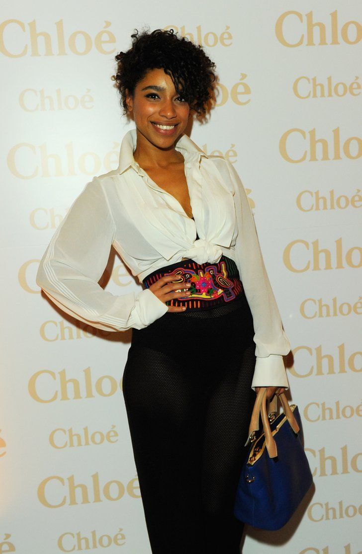 Pin for Later: Lianne La Havas's Style Is Unstoppably Cool  Meaning business of the Chloé carpet, Lianne attended the launch of Chloé Attitude whilst monochrome power dressing with signature pop accessories.