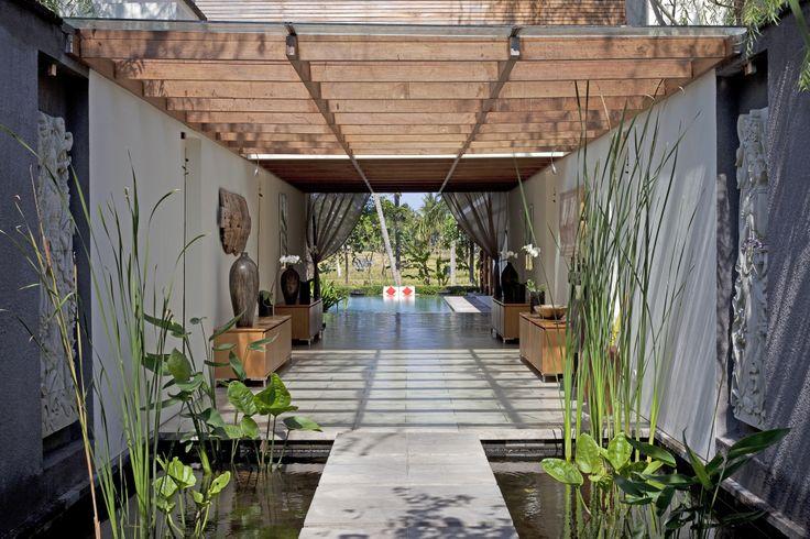 Hallway view Villa Dewi Sri Bali http://prestigebalivillas.com/bali_villas/villa_dewi_sri/20/live_availability/
