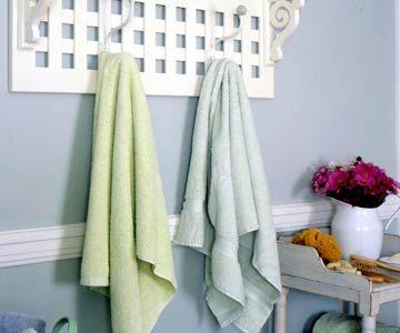 The 25 best Bathroom towel display ideas on Pinterest Bath