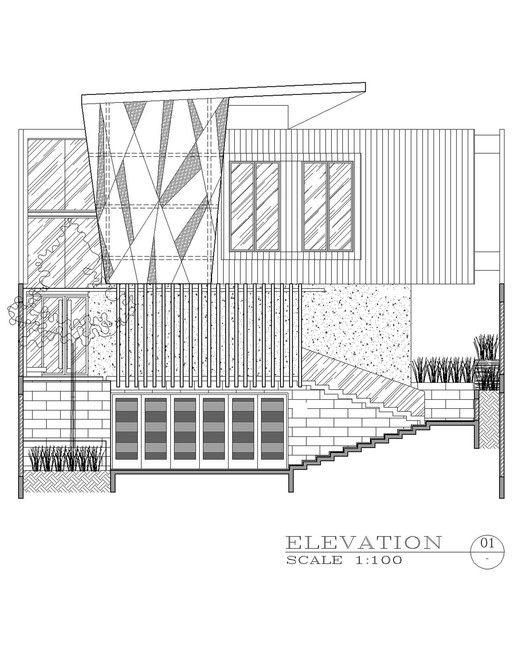 Ben House GP,Elevation