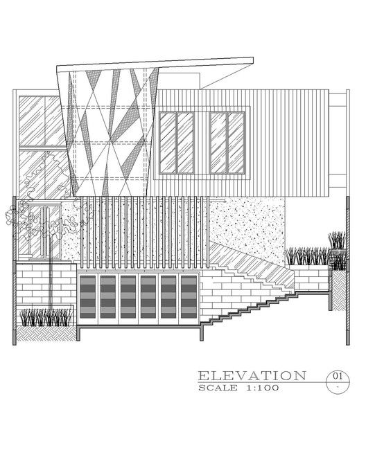 Ben House GP,Elevation