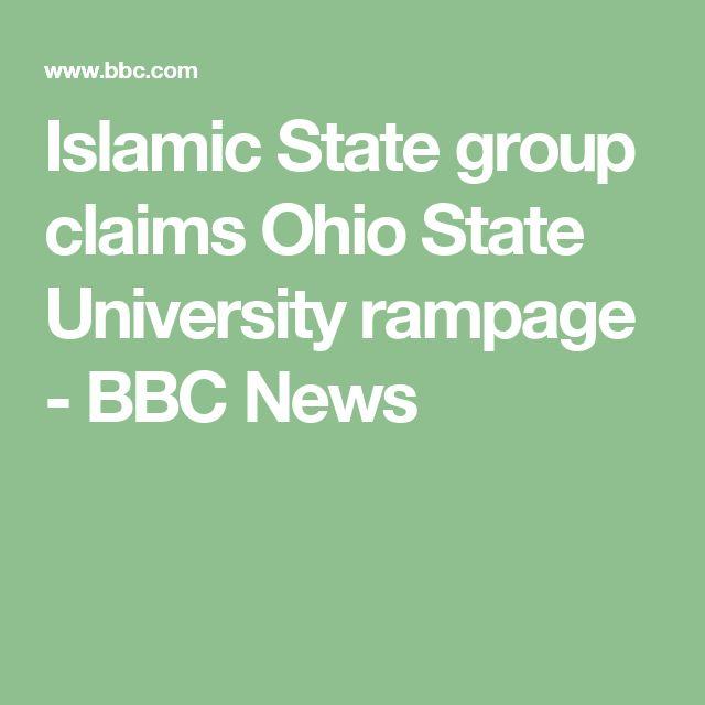 Islamic State group claims Ohio State University rampage - BBC News