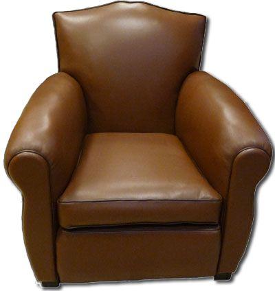 fauteuil club restauré