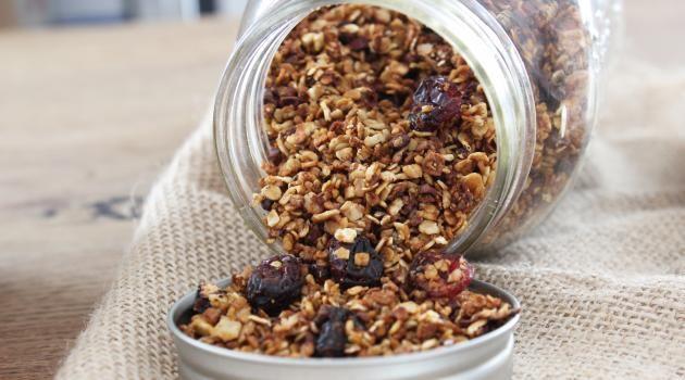 Recettes de granola pour le petit-déjeuner