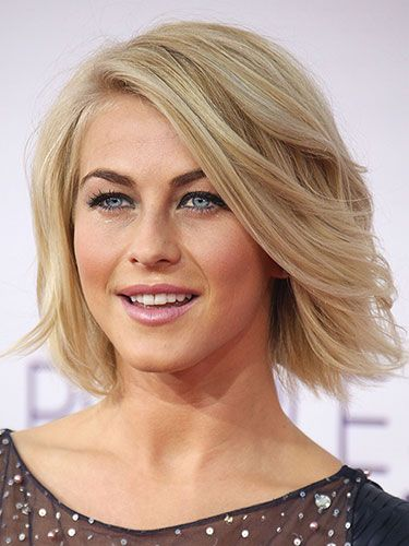 Julianne Hough  Julianne's blown-back hair is so carefree and whimsical — when you do yours this way, your man can't help but fall in love again.