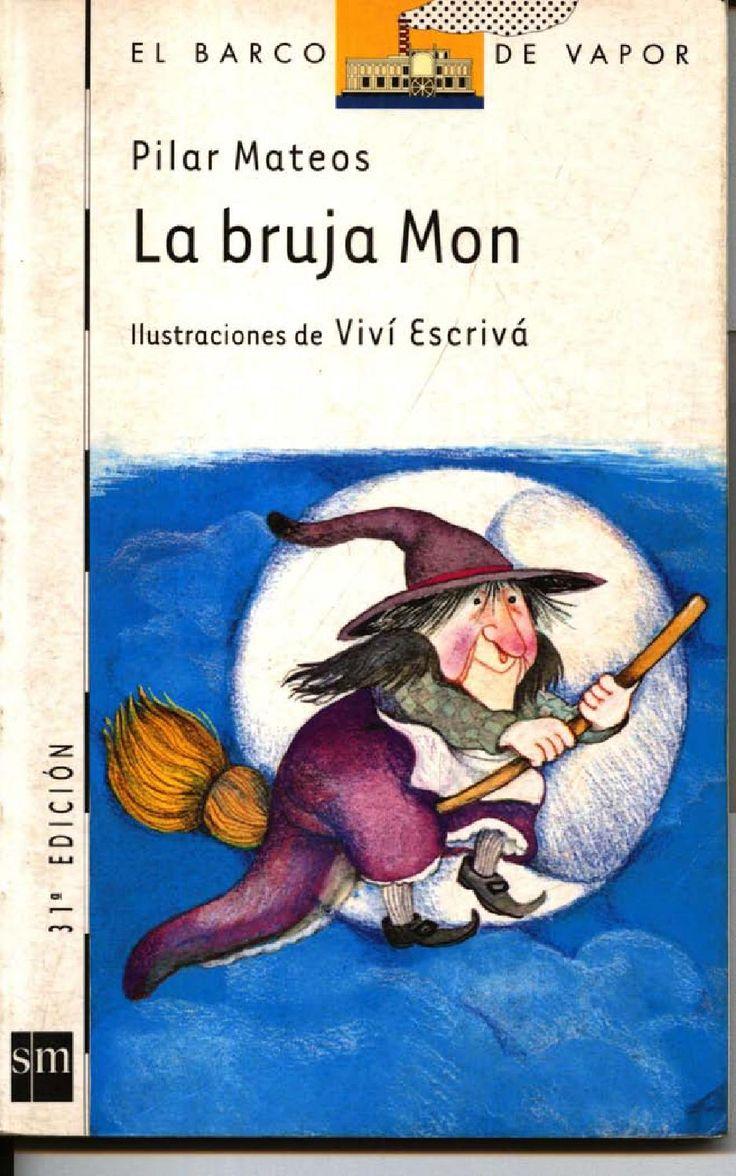 La bruja Mon Libros Infantiles