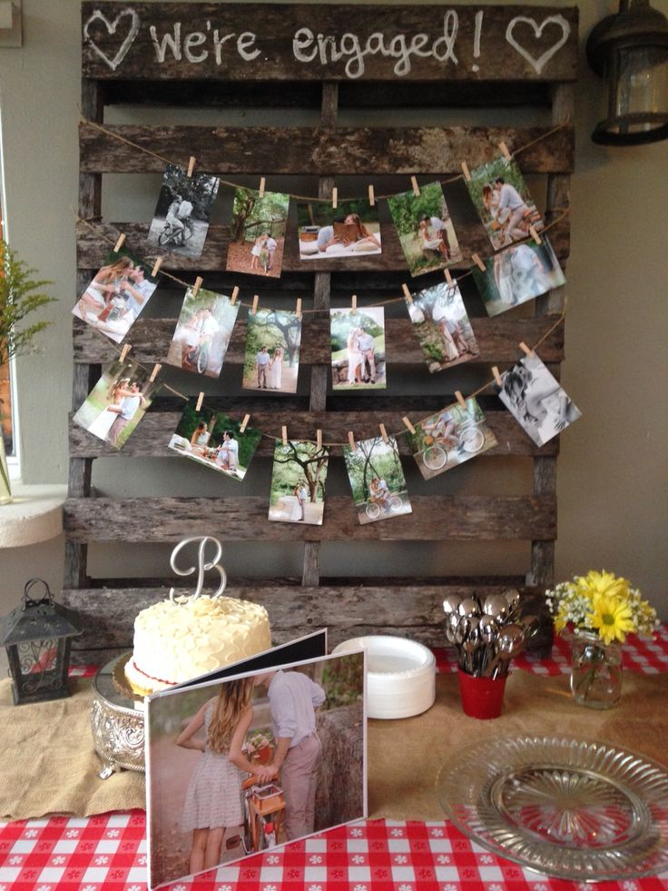 Best 25 engagement parties ideas on pinterest for Backyard engagement party decoration ideas