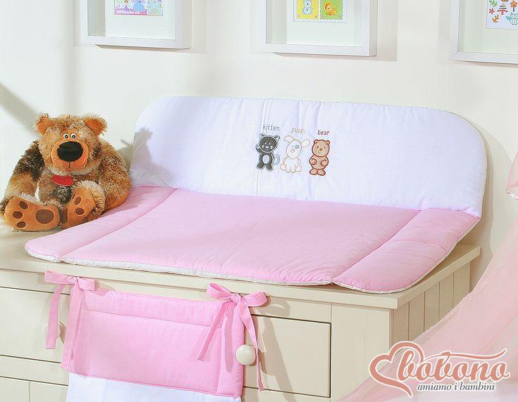 Pink changing mat  / Bobono
