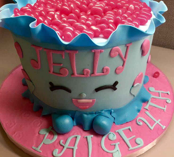 Shopkins Jelly Cake Cakes I Like To Make Pinterest