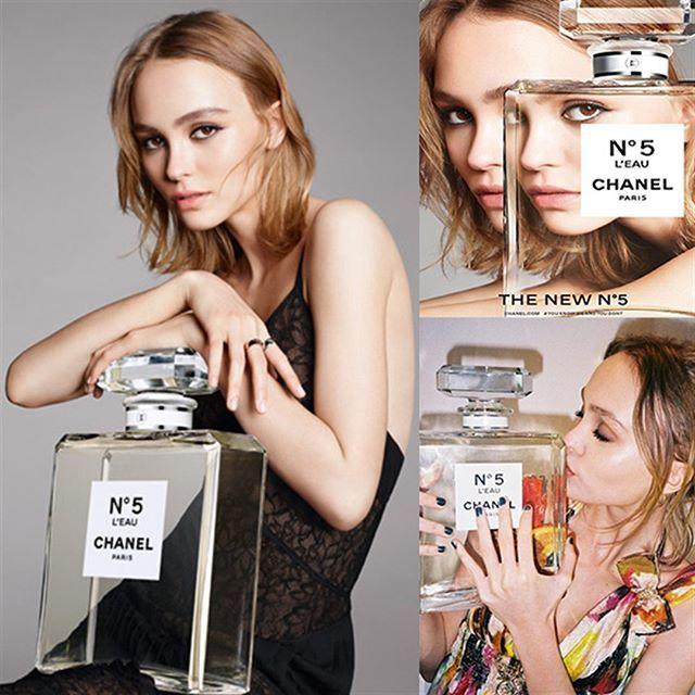 17-летняя Лили-Роуз Депп (дочь Джонни Деппа и Ванессы Паради) стала лицом Chanel…