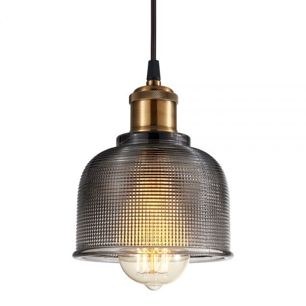 Cult Living Tulip Glass Pendant Lamp Black | Cult Furniture