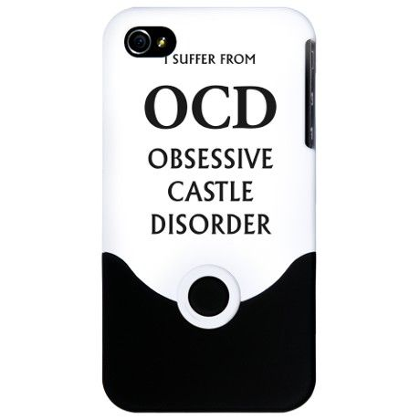 OCD iPhone 4 Slider Case Castle TV show  $24.50