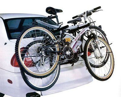 Car cycle #carrier 2 bicycle bike rack #universal fitting #saloon hatchback estat,  View more on the LINK: http://www.zeppy.io/product/gb/2/350757911287/