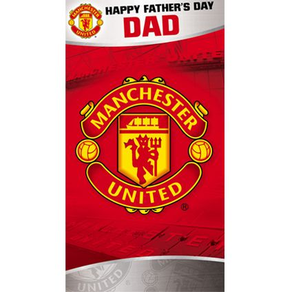 Buy this Manchester United Father's Dad Card directly from publishers Danilo.com with Free UK Delivery. Worldwide shipping also available