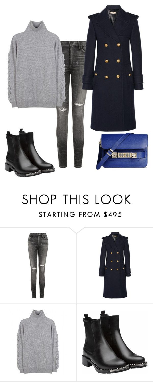 """2"" by blondeinfashion ❤ liked on Polyvore featuring Citizens of Humanity, Michael Kors, Barrie, Miu Miu and Proenza Schouler"