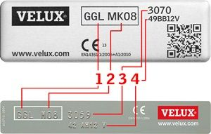 How to find out your VELUX roof window's code and size. It's easy when you know how!