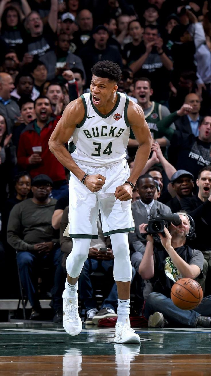 Giannis Antetokounmpo it's an incredible basketball player