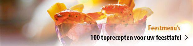 100 toprecepten voor een geslaagd feestmenu