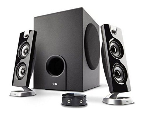Cyber Acoustics 2.1 Computer Speaker with Subwoofer - Best for Music Movies Multimedia PC and Gaming Systems (CA-3602 FFP)