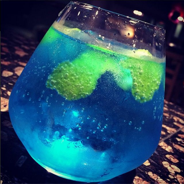 Check out this excellent piece of #cocktail art from #Rydges Rotorua.