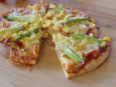 ビニール袋で簡単ピザ生地を作ろう!