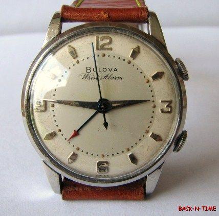 vintage bulova alarm