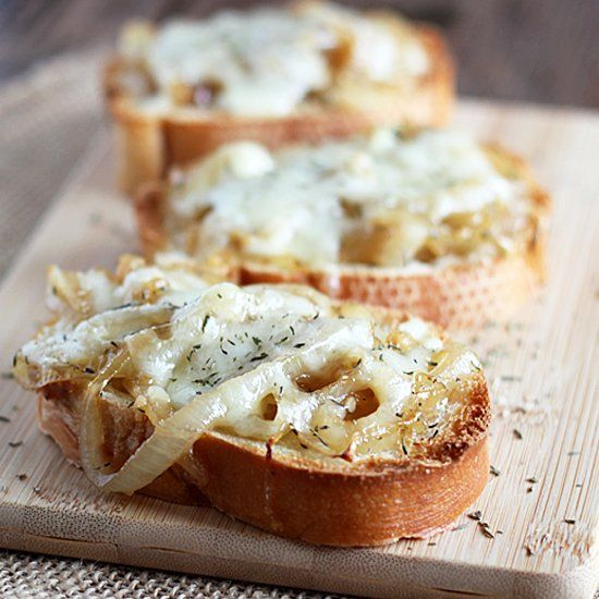Quick & Easy French Onion Toast