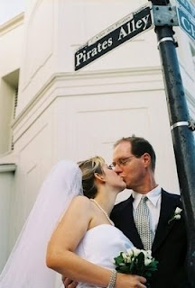 Wedding Pirates Alley French Quarter New Orleans Who Is The Ghost In