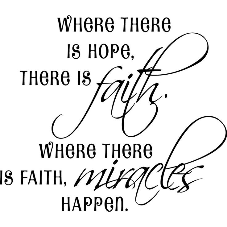 Love Faith Hope Quotes: MIRACLE QUOTES - Bing Images
