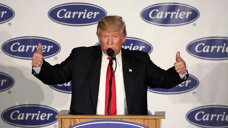 Sanktionen bei Fortzug ins Ausland: Trump warnt US-Firmen vor Abwanderung