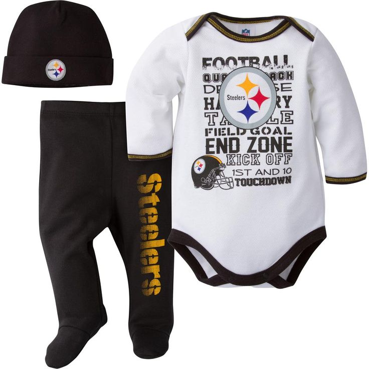 Steelers Baby Clothes Glamorous 26 Best Pittsburgh Steelers Baby Images On Pinterest  Pittsburgh Inspiration