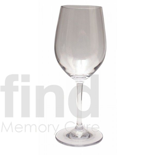Unbreakable Wine Glass for Dementia and Alzheimers care.