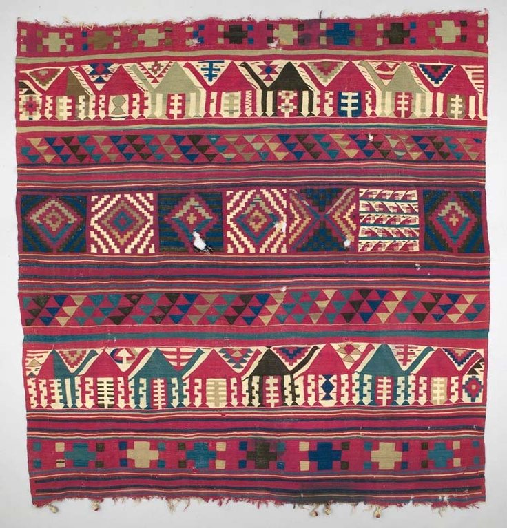 Africa Blanket Ferrachiya From Gafsa Tunisia Ca 1920 30s