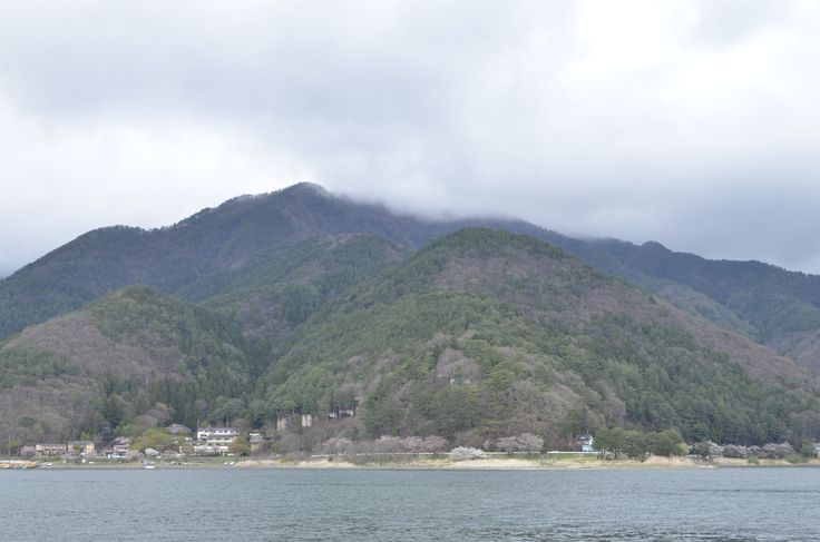 View from lake of Mt. Fuji