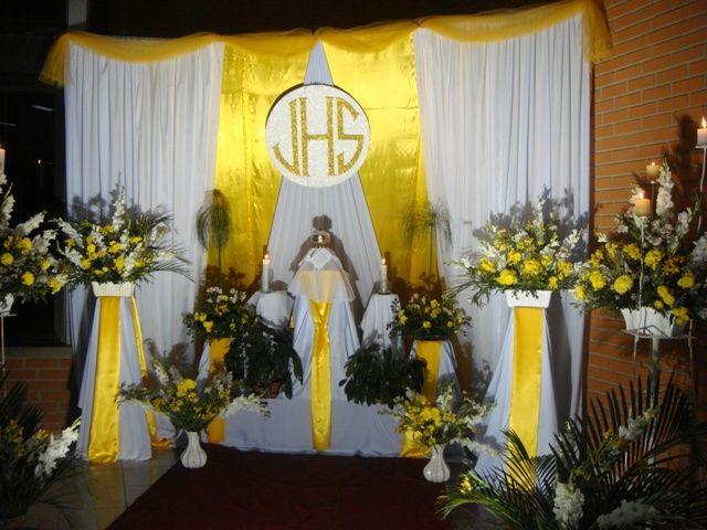 jueves santos altares en dominicana | Parroquia Nuestra Ora Las Mercedes Monumentos Del Jueves Santo