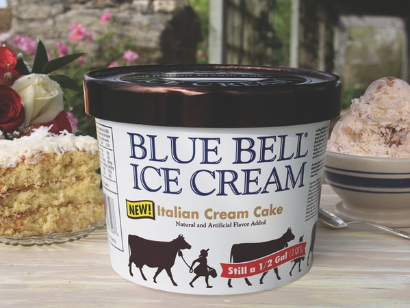 Blue Bell Ice Cream Flavors Wedding Cake