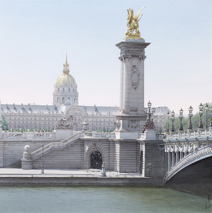 Le pont Alexandre III - Thierry Duval