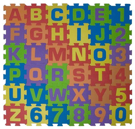 Connect-A-Mat™ Alphabet and Numbers | Walmart.ca