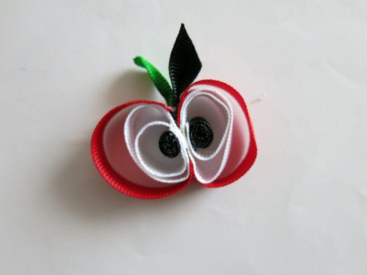 apple, ribbon accessories alma csatt - DIY